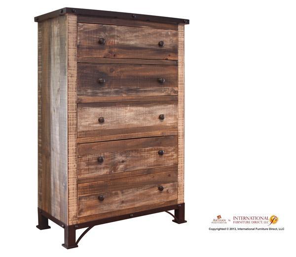 International Furniture Direct 970 5 Drawer Chest - Item Number: 966404