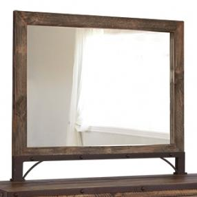International Furniture Direct 900 Antique Mirror
