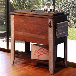 "International Furniture Direct 900 Antique 36"" Cooler"