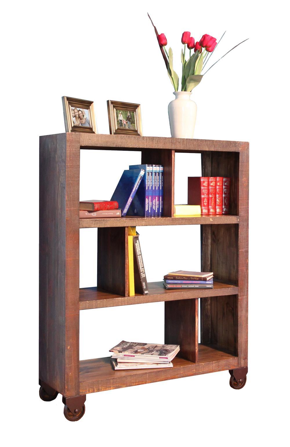 "International Furniture Direct Consoles 54"" Bookcase - Item Number: IFD965BKCS-54"