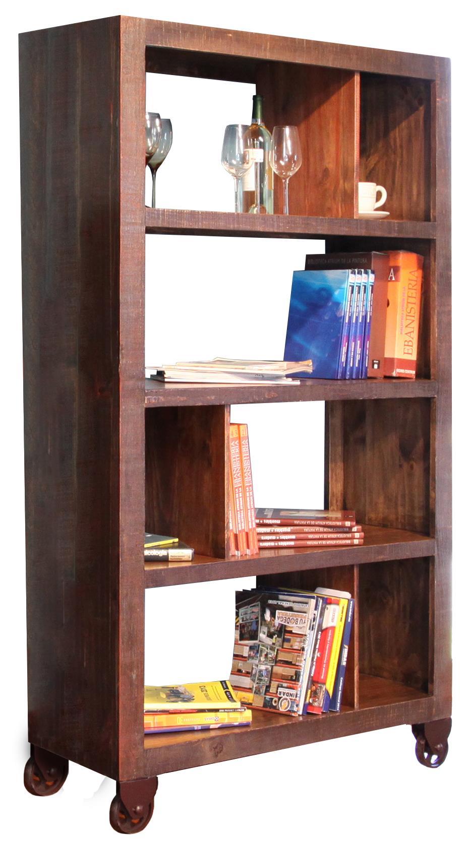 "International Furniture Direct Consoles 70"" Bookcase - Item Number: IFD965BKCS-70"