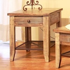 International Furniture Direct 968 End Table