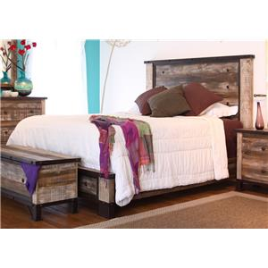 International Furniture Direct 970 Full Bed
