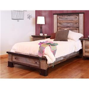 International Furniture Direct 970 Twin Bed