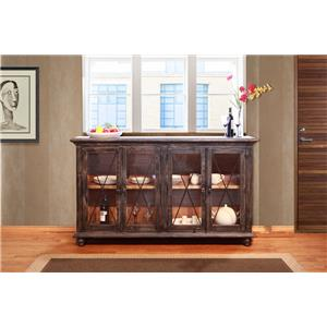 International Furniture Direct 970 4 Door Server