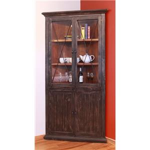 International Furniture Direct 970 Corner Display Unit