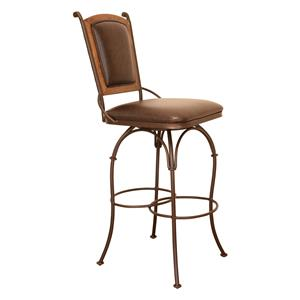 "International Furniture Direct Bar Stools 30"" Swivel Barstool"