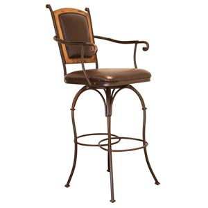 International Furniture Direct Bar Stools Barstool with Arms
