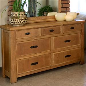 International Furniture Direct Lodge Dresser