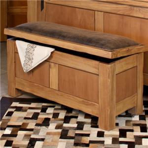 International Furniture Direct Lodge Bedroom Trunk