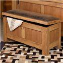 International Furniture Direct Lodge Bedroom Trunk - Item Number: LHR100TRNK-LHR-10