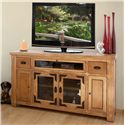 International Furniture Direct Lodge Entertainment TV Console - Item Number: LHR115CONS-TV