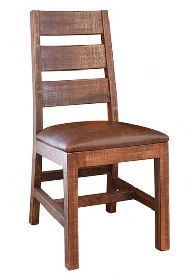 International Furniture Direct Monte Carlo Ladder Back Chair - Item Number: IFD770CHAIR