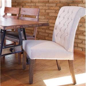 International Furniture Direct Parota Upholstered Chair