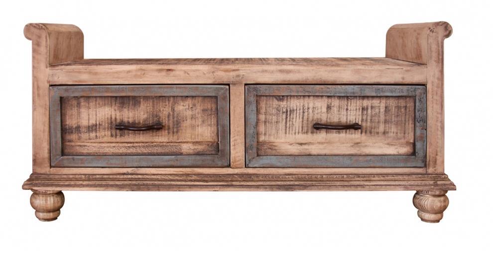 International Furniture Direct Praga  Bedroom Bench - Item Number: IFD968BENCH
