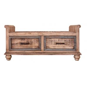 International Furniture Direct Praga  Bedroom Bench