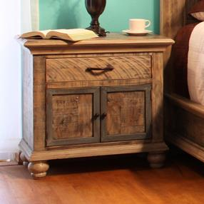 International Furniture Direct Praga  Nightstand - Item Number: IFD968NTST
