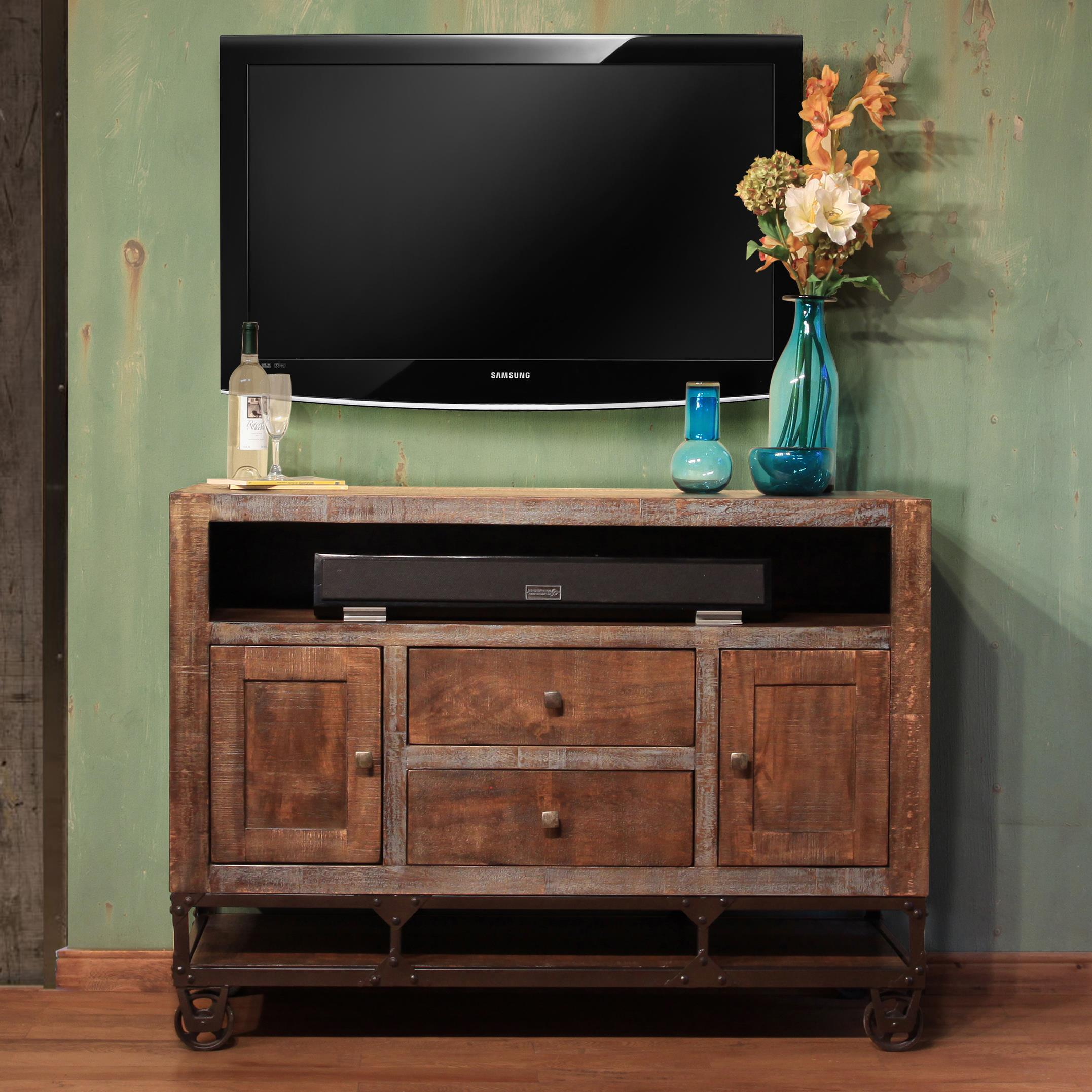 "52"" Solid Wood TV Stand"