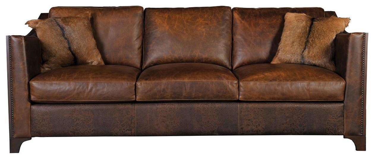 AL1258 Leather Sofa at Williams & Kay