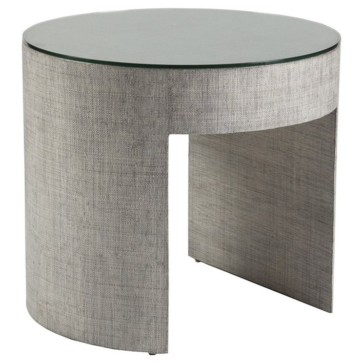 Precept Precept Round End Table by Artistica at Alison Craig Home Furnishings