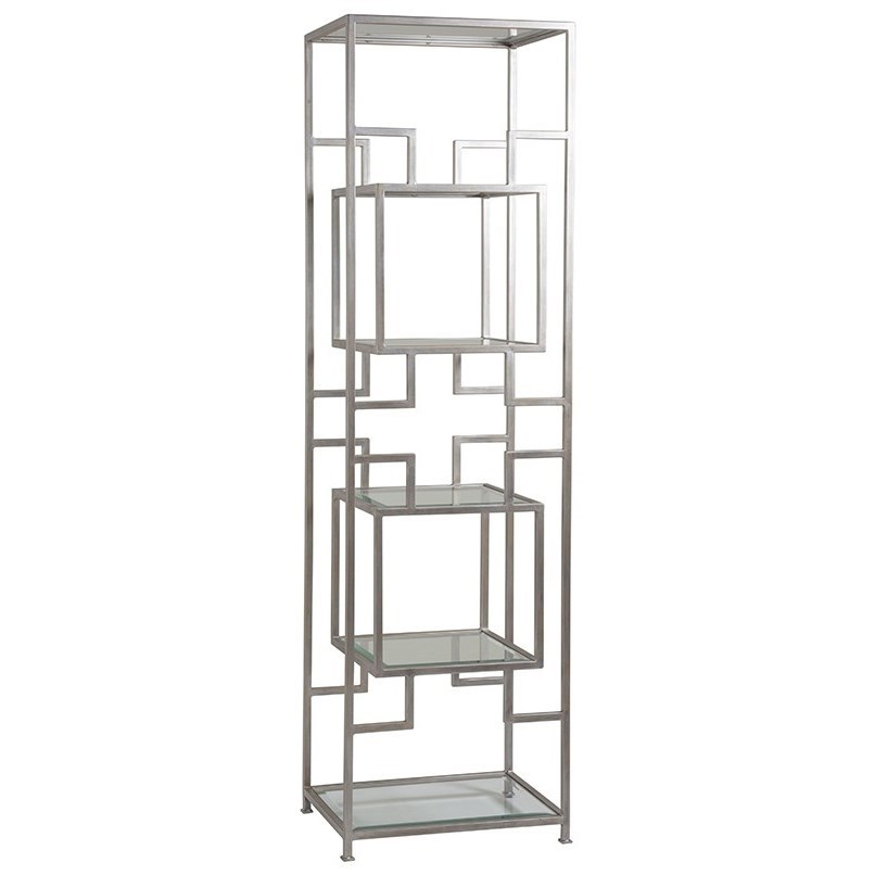 Metal Designs Suspension Slim Etagere by Artistica at Baer's Furniture
