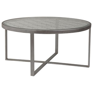 Artistica Artistica Metal Royere Round Cocktail Table