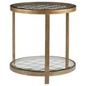 Royere Round End Table