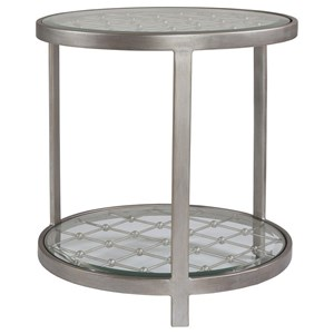 Artistica Artistica Metal Royere Round End Table