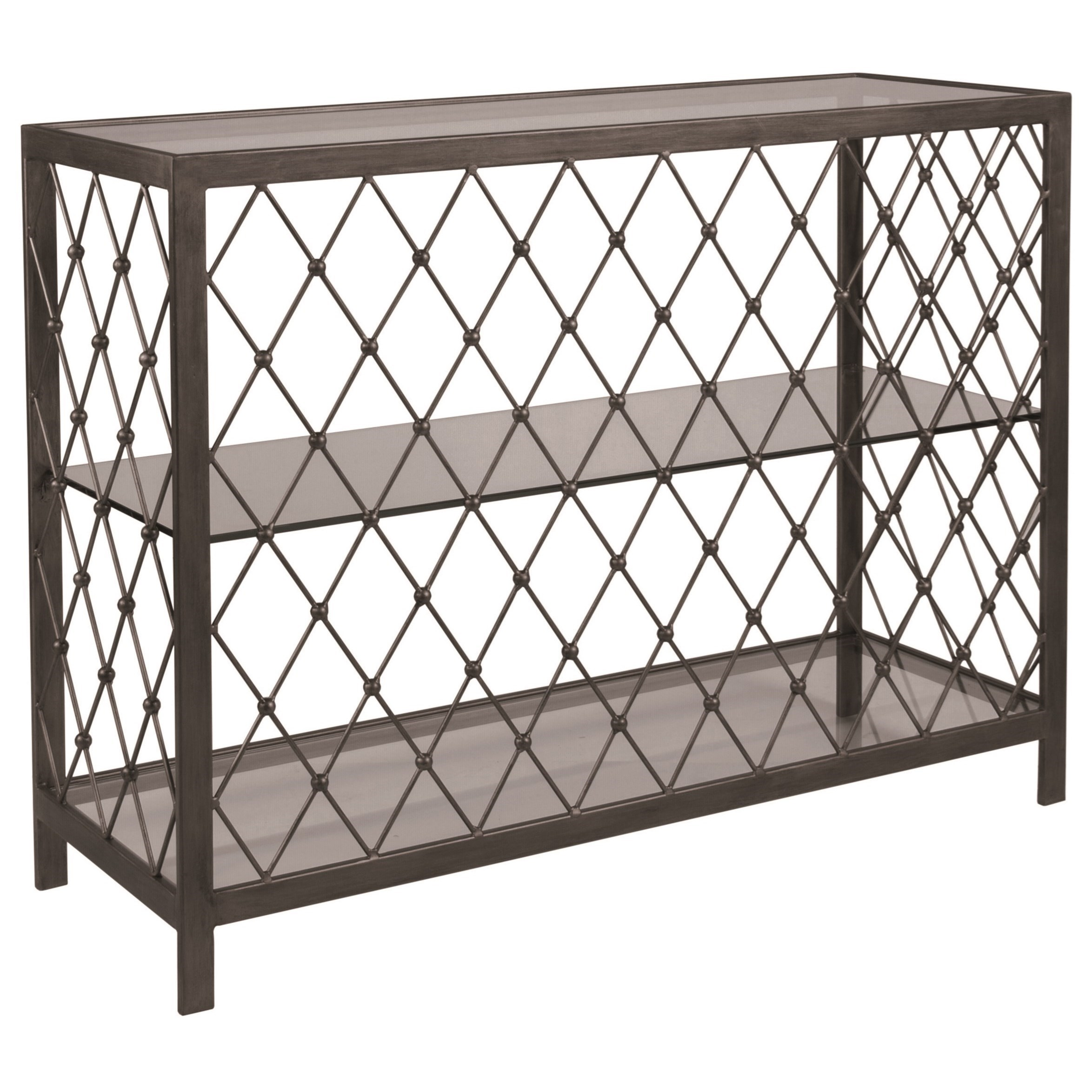 Metal Designs Royere Console Table by Artistica at Baer's Furniture