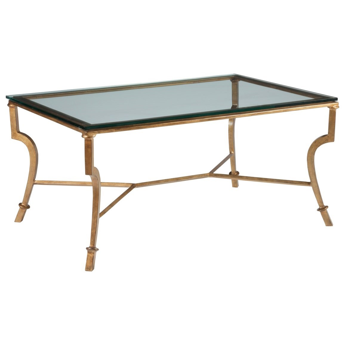 Metal Designs Syrah Small Rectangular Cocktail Table by Artistica at Baer's Furniture