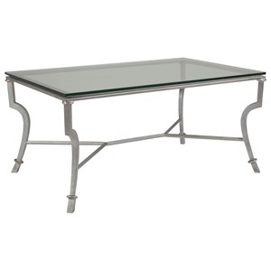 Artistica Artistica Metal Syrah Small Rectangular Cocktail Table