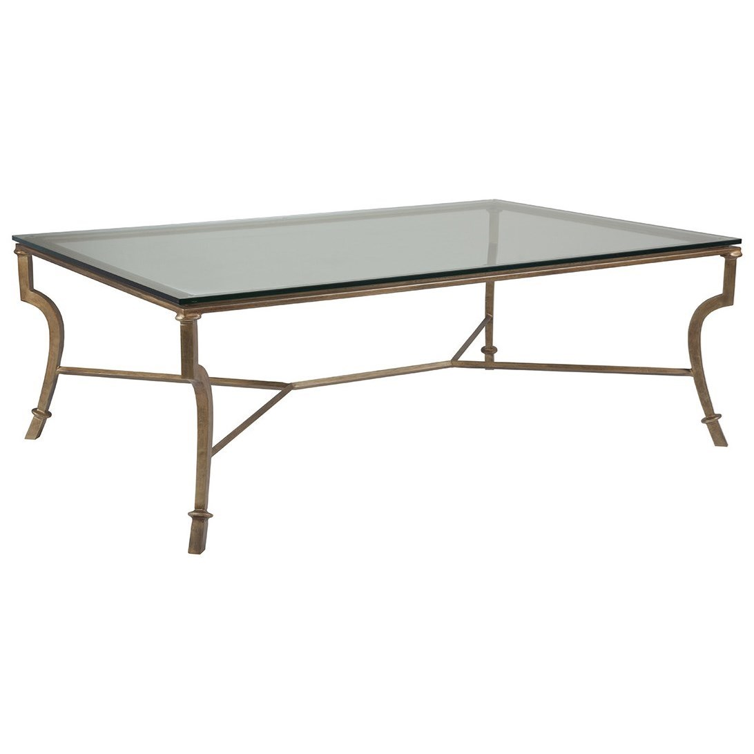 Artistica Metal Syrah Large Rectangular Cocktail Table by Artistica at Baer's Furniture
