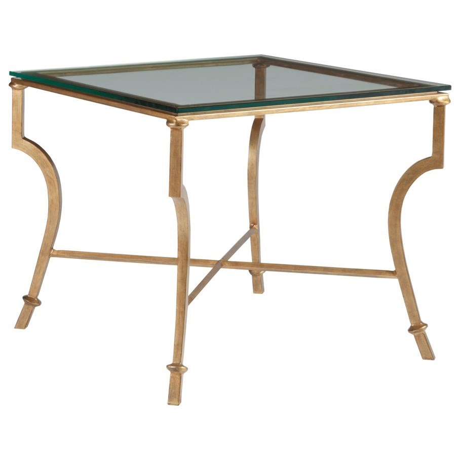Metal Designs Syrah Square End Table by Artistica at Baer's Furniture