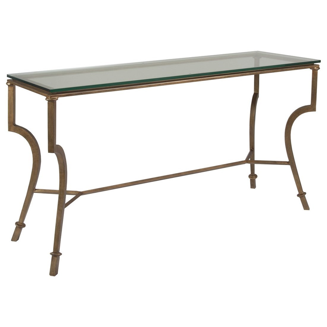 Metal Designs Syrah Console by Artistica at Sprintz Furniture