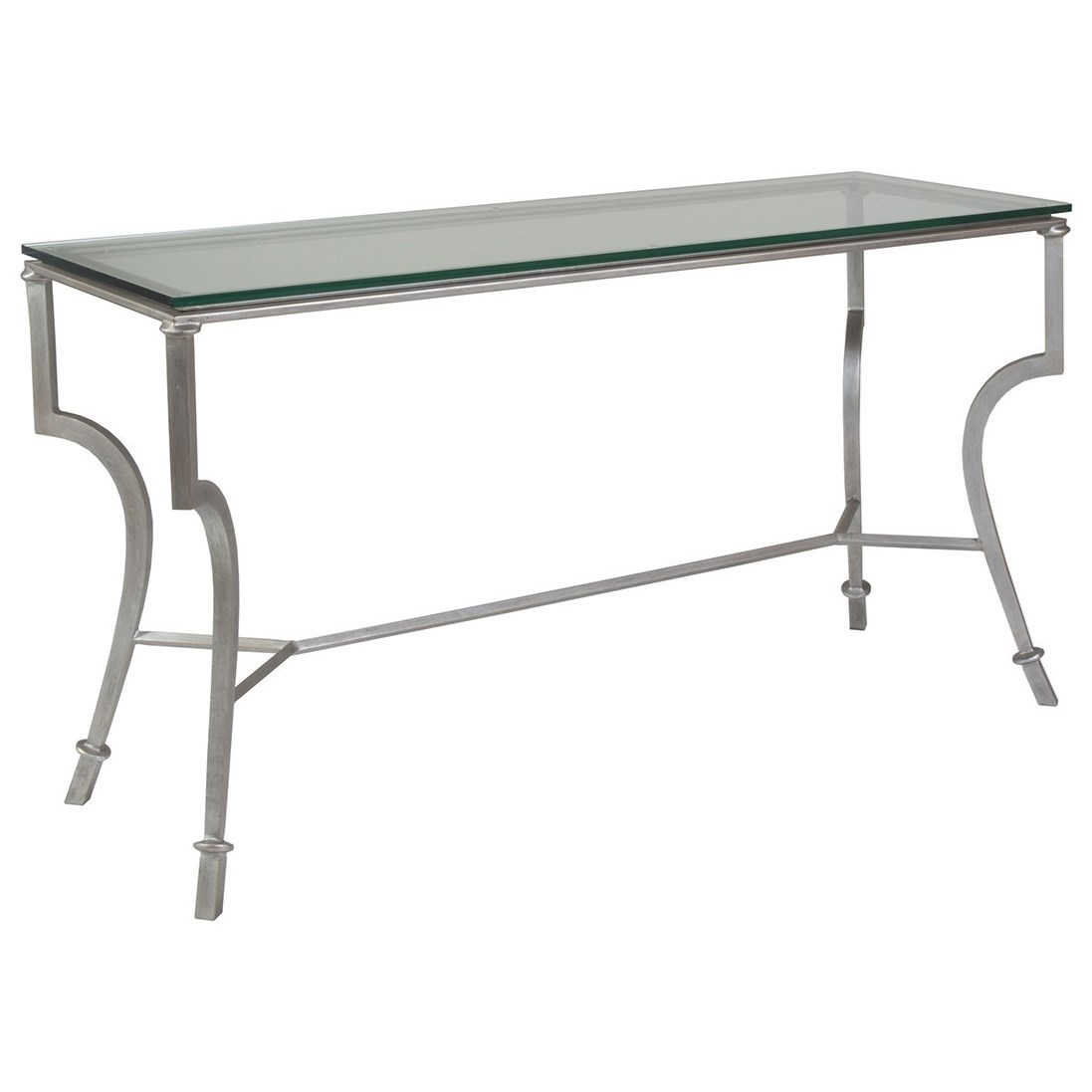 Metal Designs Syrah Console by Artistica at Alison Craig Home Furnishings