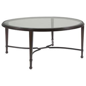 Artistica Artistica Metal Sangiovese Round Cocktail Table