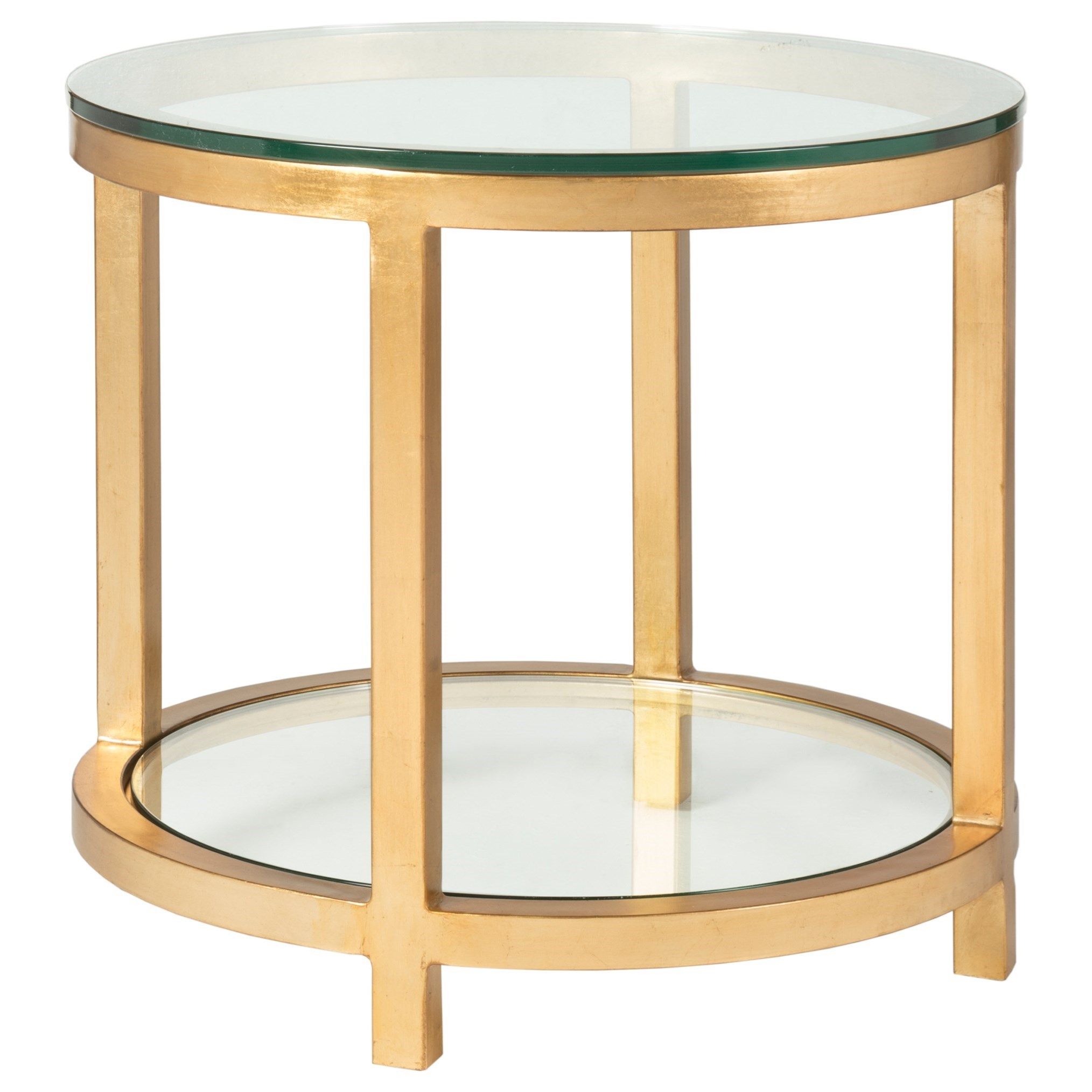 Metal Designs Per Se Round End Table by Artistica at Baer's Furniture