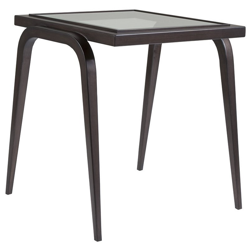 Metal Designs Mitchum Rectangular End Table by Artistica at Sprintz Furniture