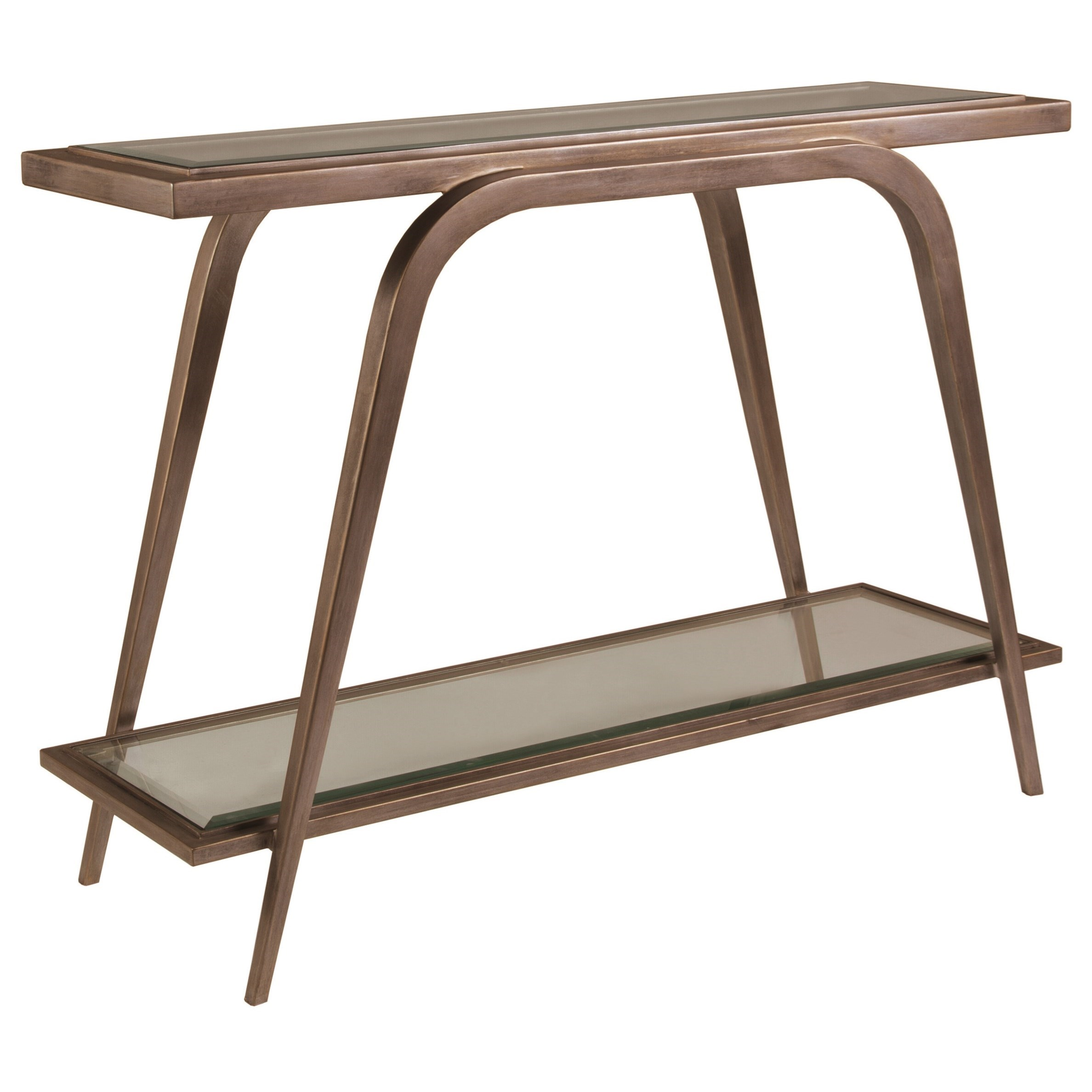 Metal Designs Mitchum Console Table by Artistica at Baer's Furniture