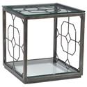 Artistica Artistica Metal Honeycomb Square End Table - Item Number: 2056-957-44