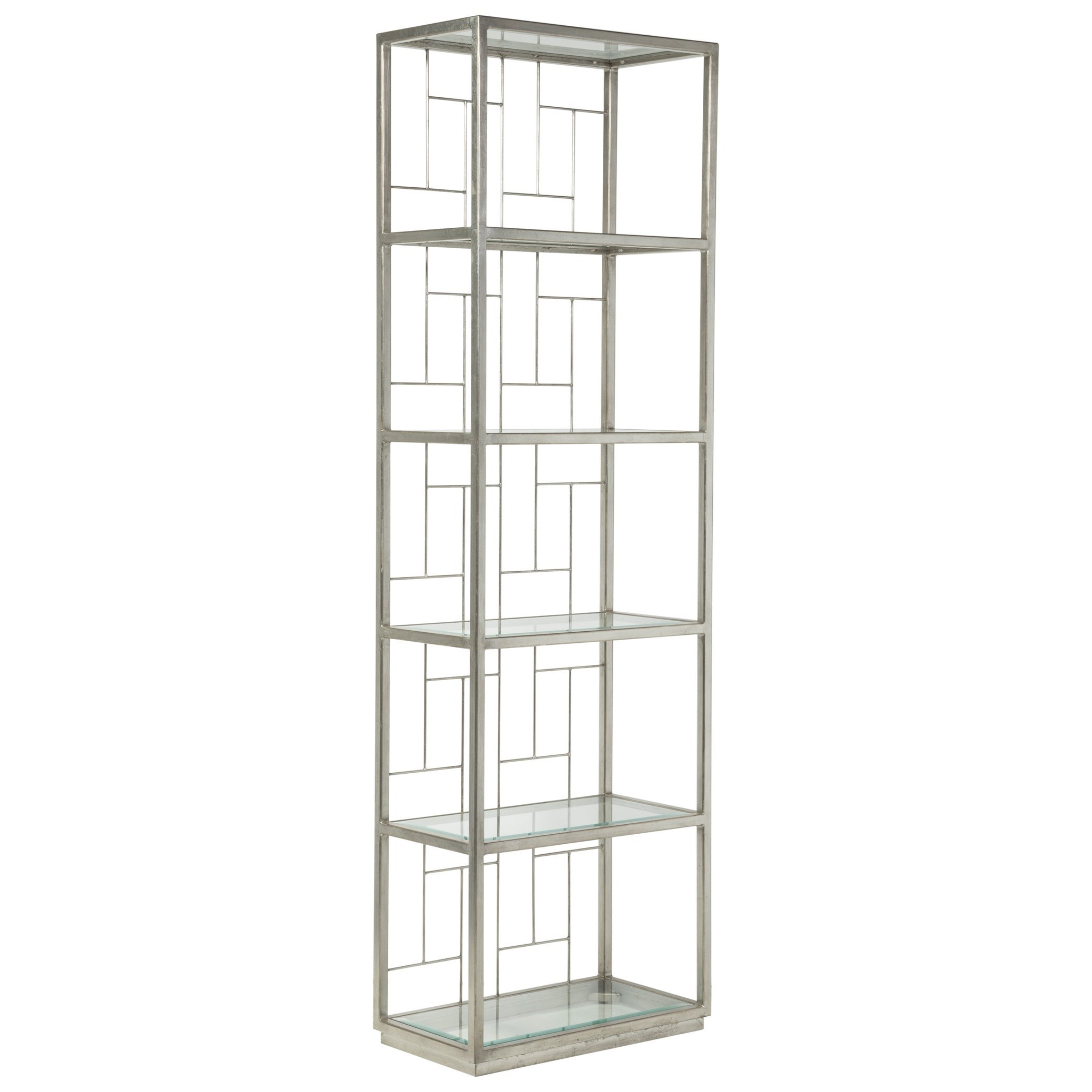 Metal Designs Honeycomb Mid Geo Slim Etagere by Artistica at Baer's Furniture