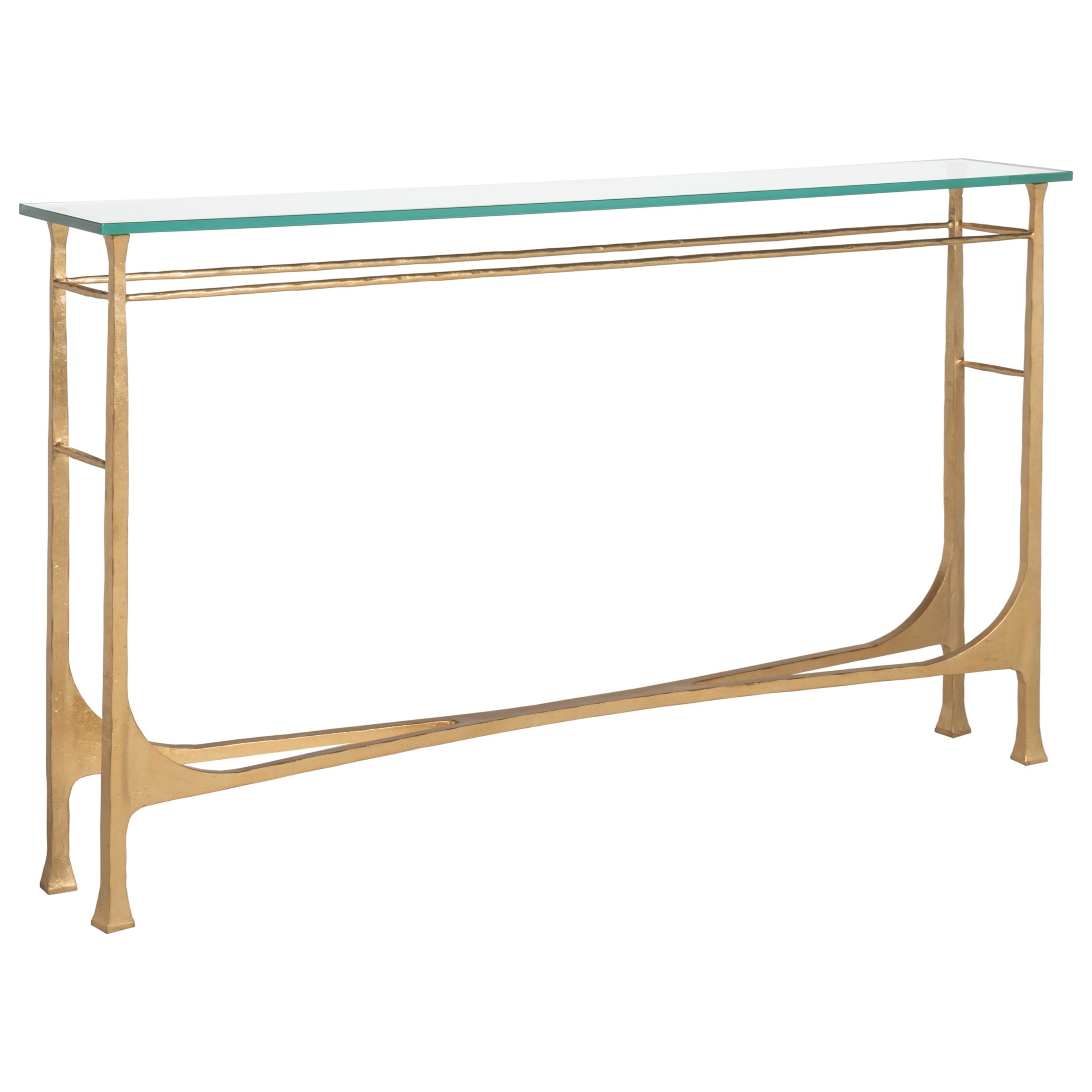 Metal Designs Bruno Console by Artistica at Baer's Furniture