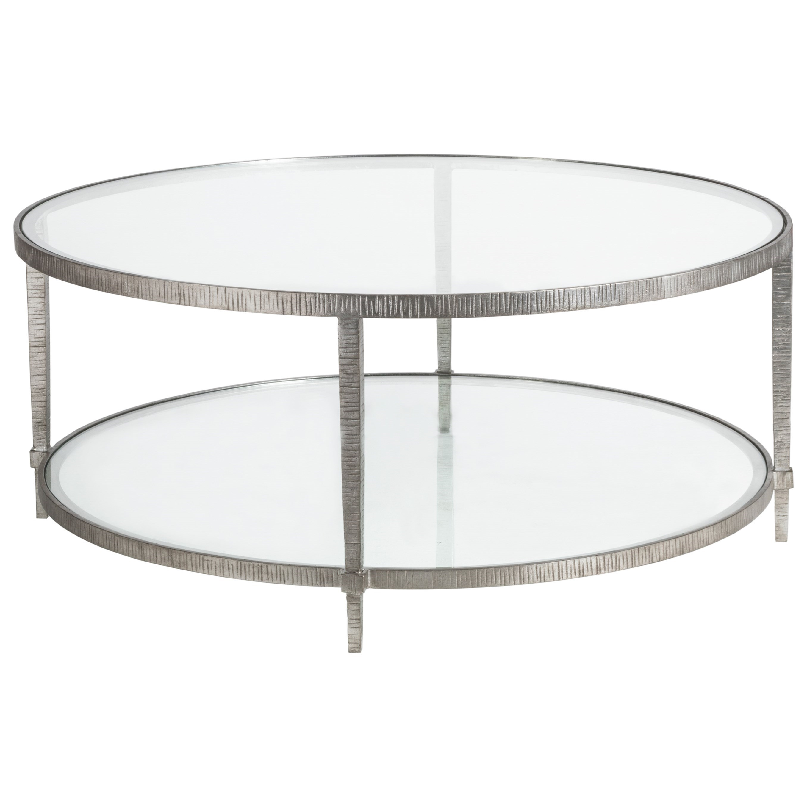 Metal Designs Claret Round Cocktail Table by Artistica at Baer's Furniture