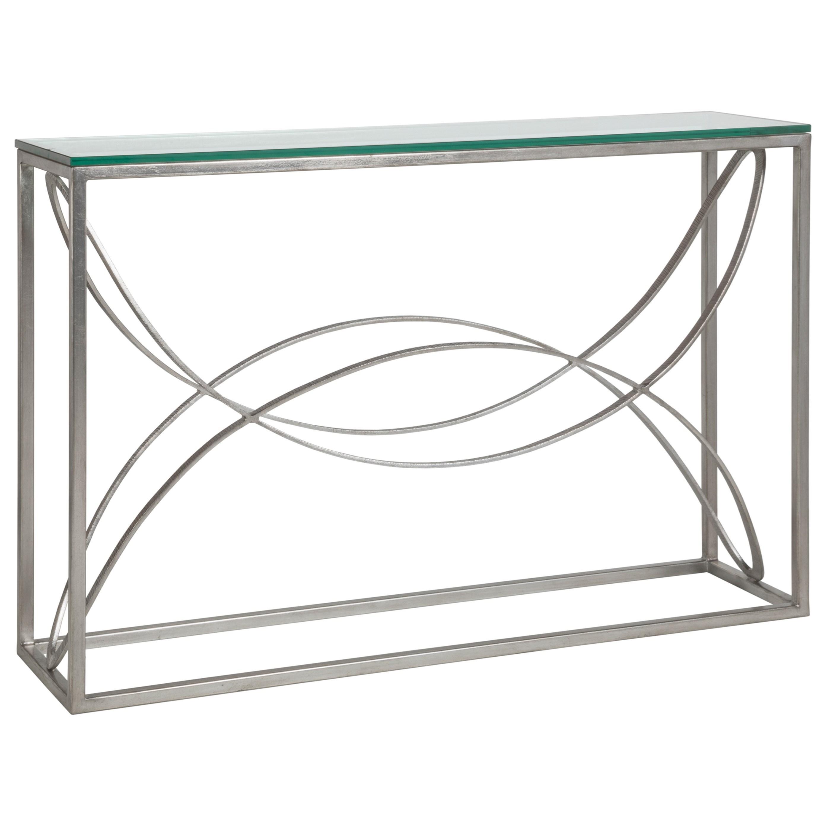 Metal Designs Ellipse Console by Artistica at Baer's Furniture
