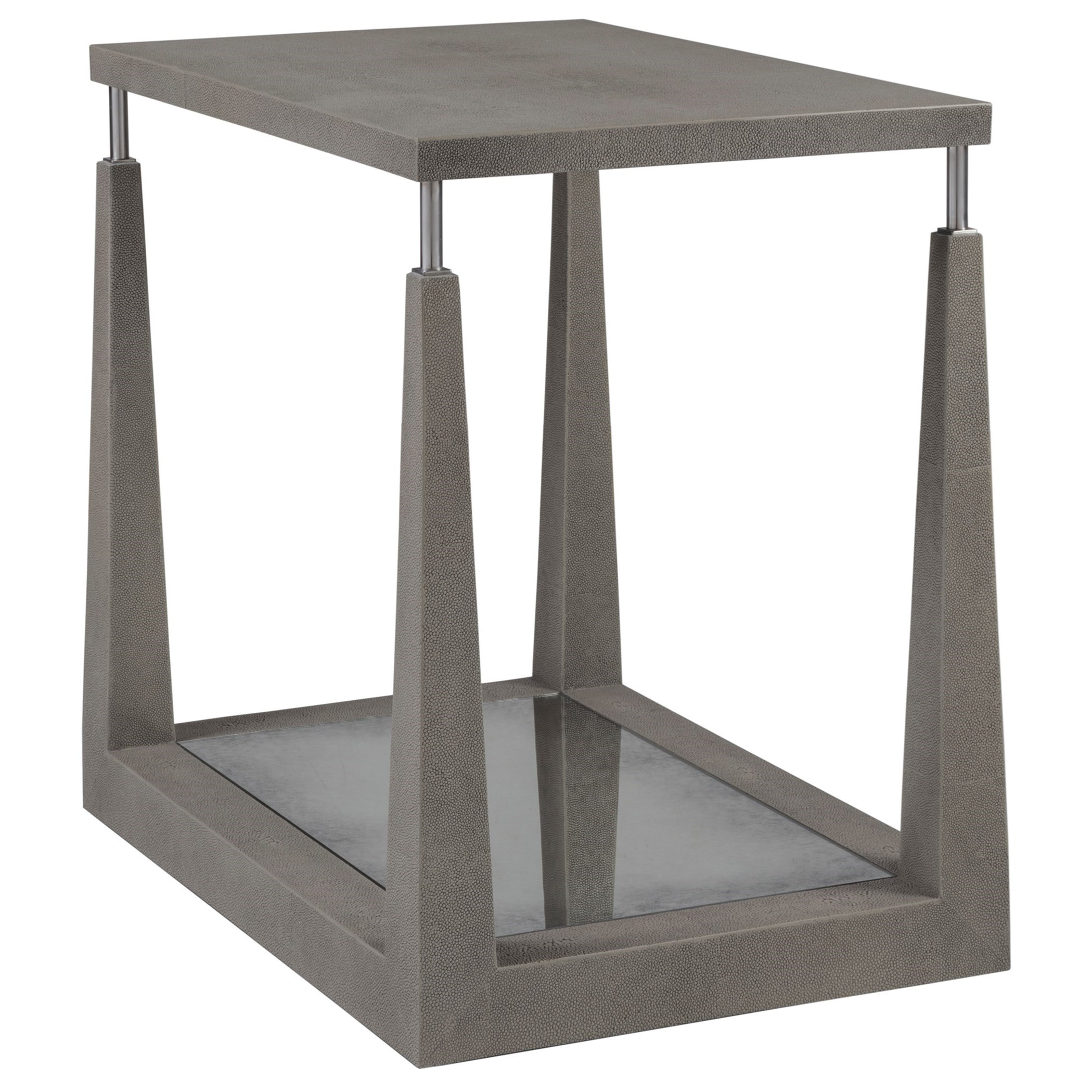 Ascension Rectangular End Table by Artistica at Baer's Furniture