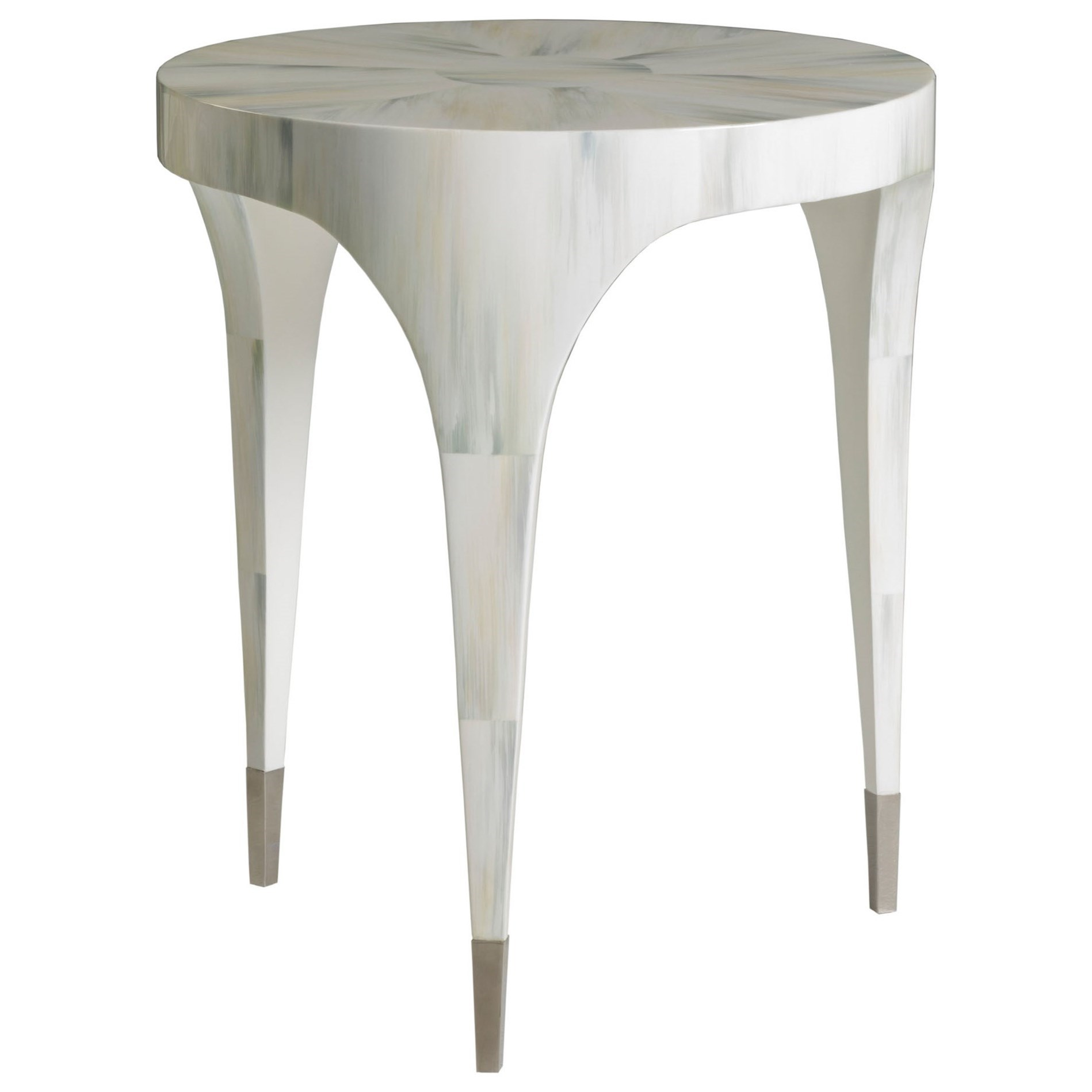 Bello Round Spot Table by Artistica at Baer's Furniture