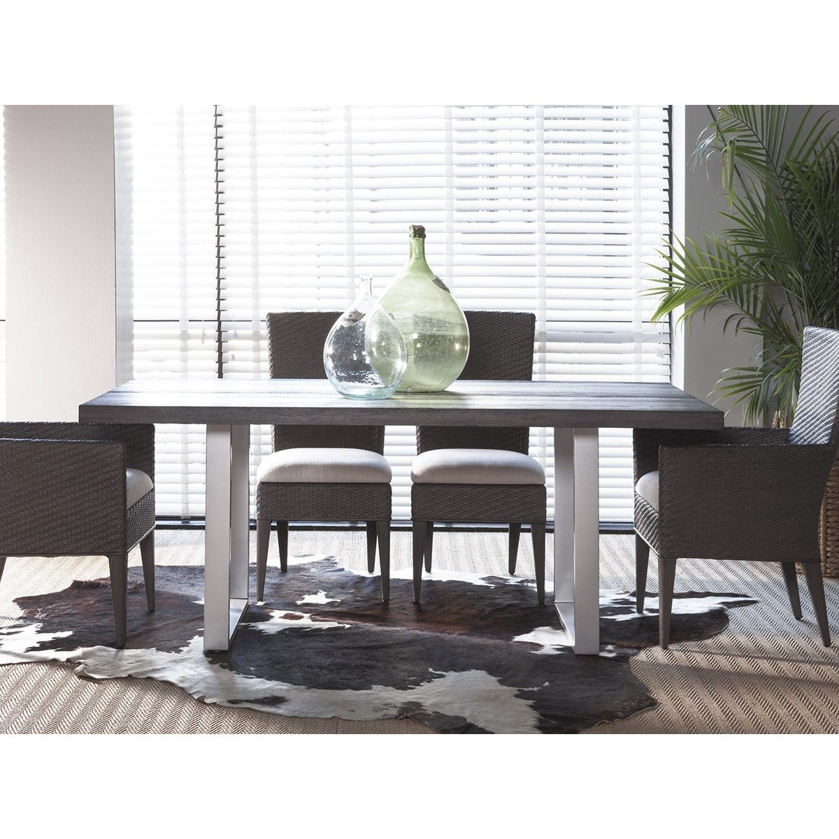 Dazzelton Dining Room Table: Artistica Cadence 2090-876 Contemporary Rectangular Dining