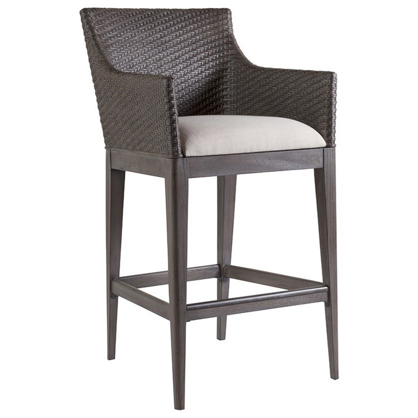 Cadence Fixed Bar Stool by Artistica at Baer's Furniture