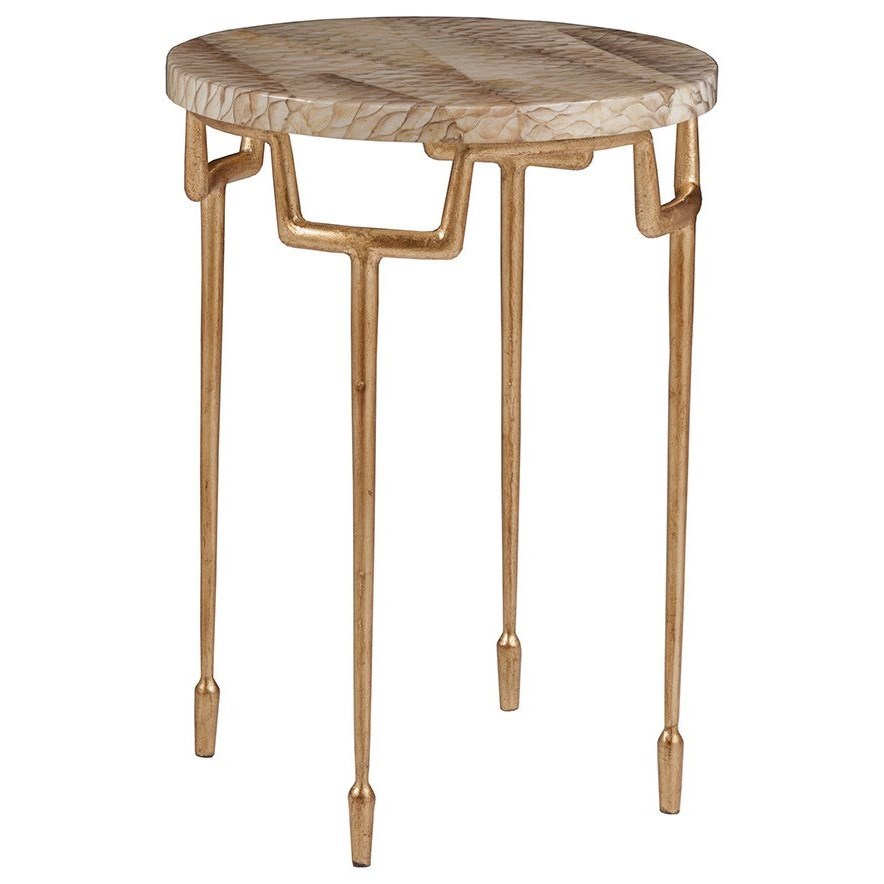 Calypso Round Spot Table by Artistica at Baer's Furniture
