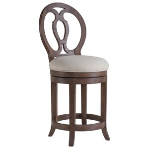 Artistica Cohesion Axiom Swivel Counter Stool